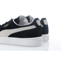 Afbeelding van Puma 352634-03 Sneakers Suede classic+ Zwart