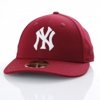 Afbeelding van New Era 80536502 Fitted Cap Mlb Chain Lp5950 Ny Yankees Bruin