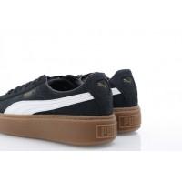 Afbeelding van Puma Ladies 366807-02 Sneakers Basket platform perf gum Zwart