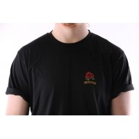 Afbeelding van Rib.Eye.Steak 17-RES-004 T-shirt Little Rose Zwart