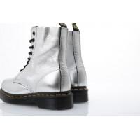 Afbeelding van Dr. Martens Ladies 22502040 Boots Pascal metallic Zilver