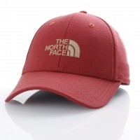 The North Face T0CF8C-1WP Dad cap 66 classic Rood