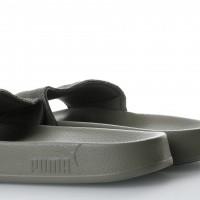 Afbeelding van Puma 365758-03 Slide sandal Leadcat suede Grijs