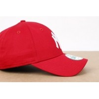 Afbeelding van New Era 10531938 Dad Cap 9Forty League Basic Ny Yankees Red