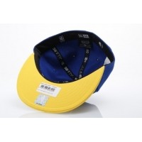 Afbeelding van New Era 11394846 Fitted cap NBA team 59fifty Golden State Warriors Official team colors