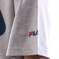 Afbeelding van Fila 680427-J42 T-shirt Classic logo Grijs