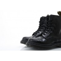 Afbeelding van Dr. Martens Ladies 14735450 Boots Cassidy Black+black softy t+hi shine