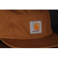 Afbeelding van Carhartt WIP I016607-HZ00 Strapback cap Backley Hamilton brown