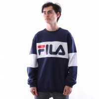 Afbeelding van Fila 681255-J02 Crewneck Straight blocked Wit