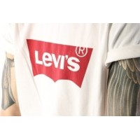 Afbeelding van Levi's 17783-01400 T-shirt Graphic set-in neck hm Wit