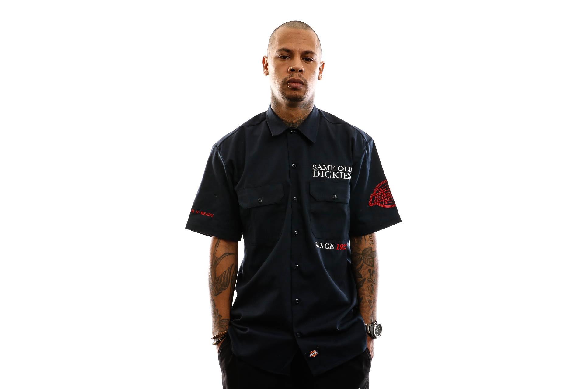 Foto van Dickies Overhemd Lenox Shirt Dark Navy DK0A4TLM