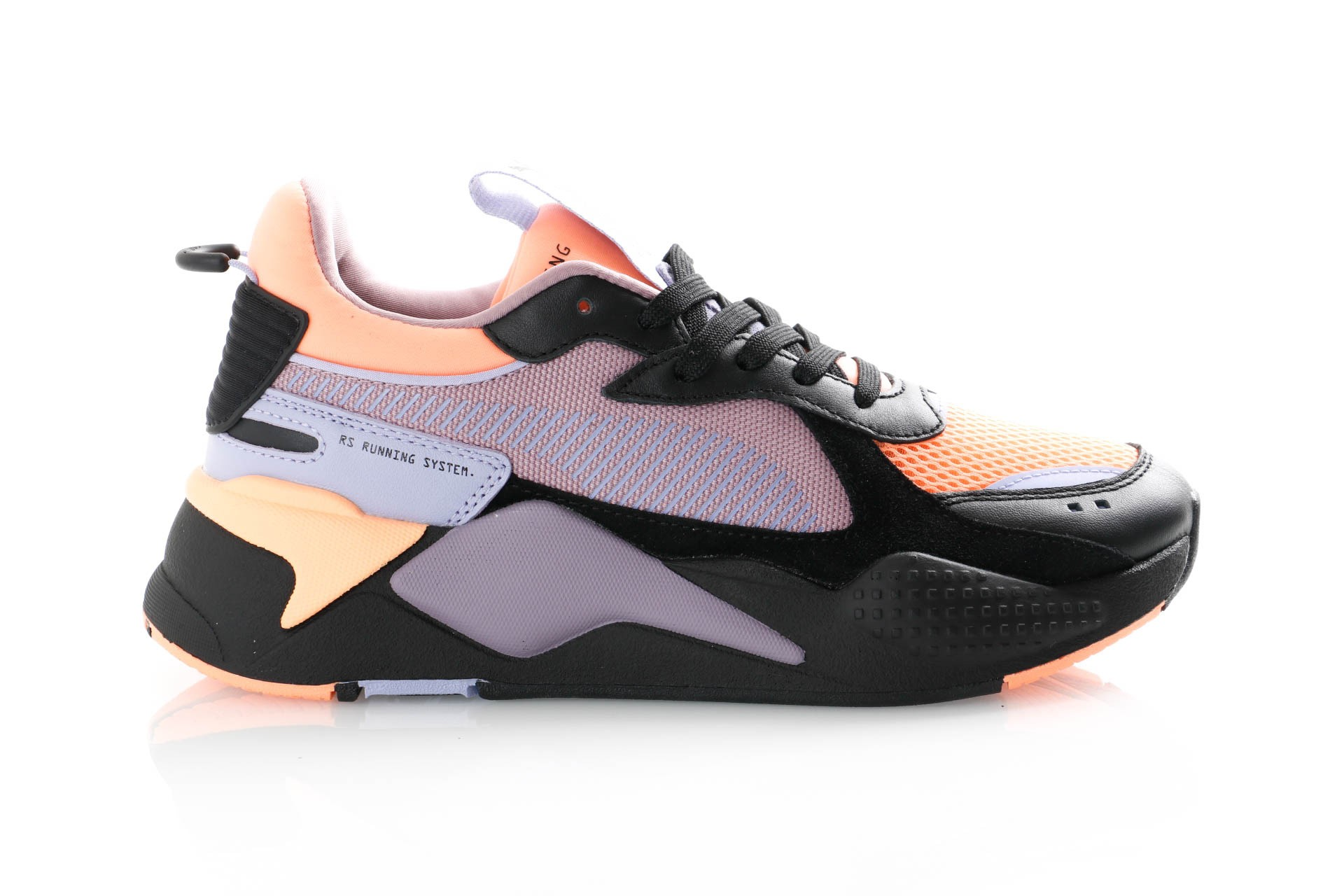 Foto van Puma Rs-X Reinvention 365347 Sneakers Puma Black-Elderberry