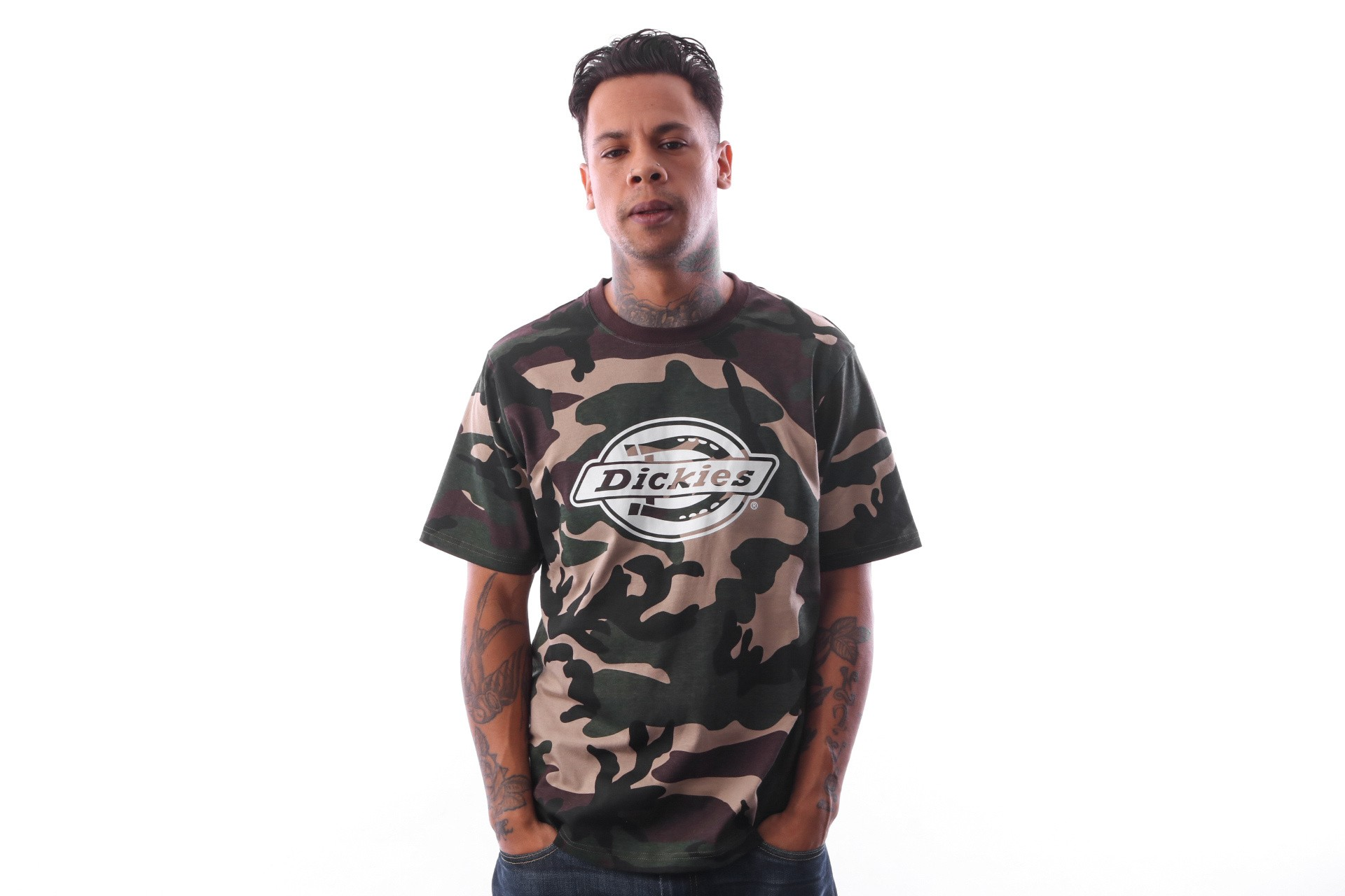 Foto van Dickies HS One Colour 06 210595 T Shirt Camouflage