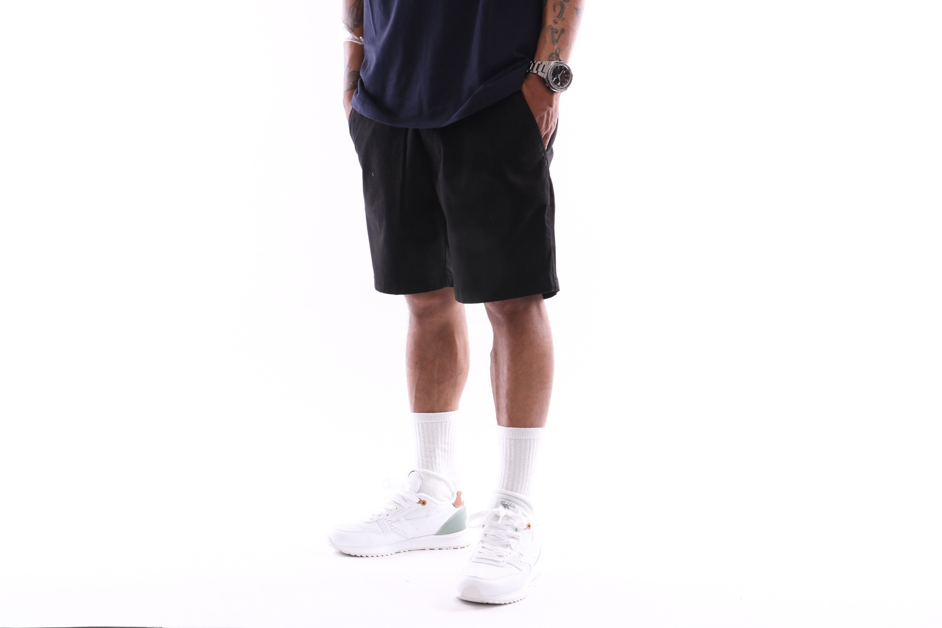 Foto van Reell Flex Chino Short 1203-004 Short Black