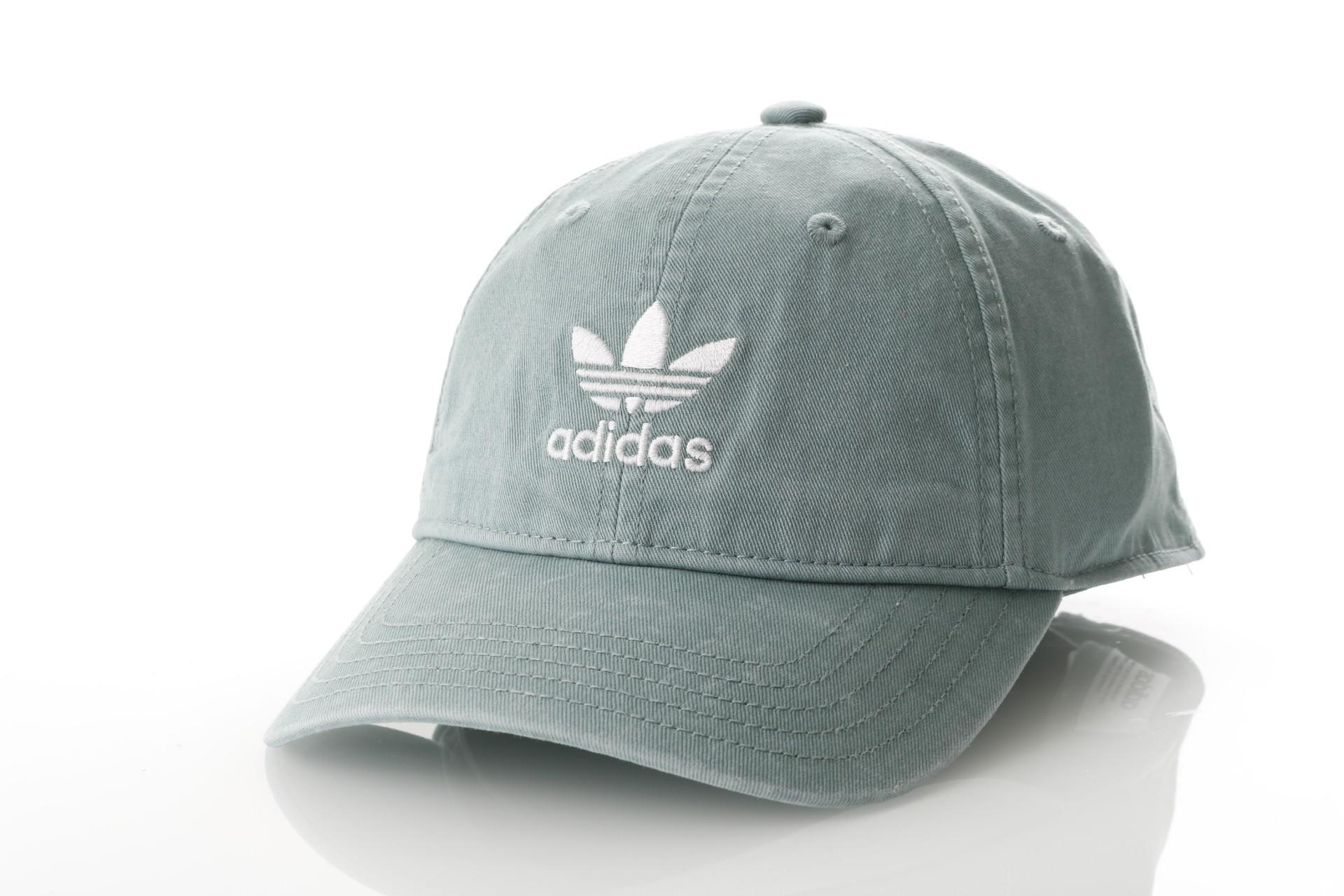 Foto van Adidas ADIC WASHED CAP DV0206 Dad cap vapour steel/white