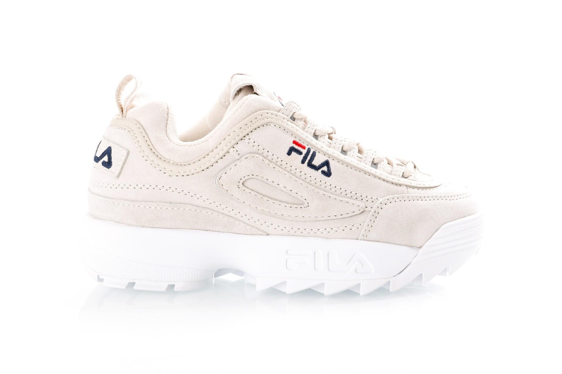 Foto van Fila Disruptor S low wmn 1010436 Sneakers chateau grey
