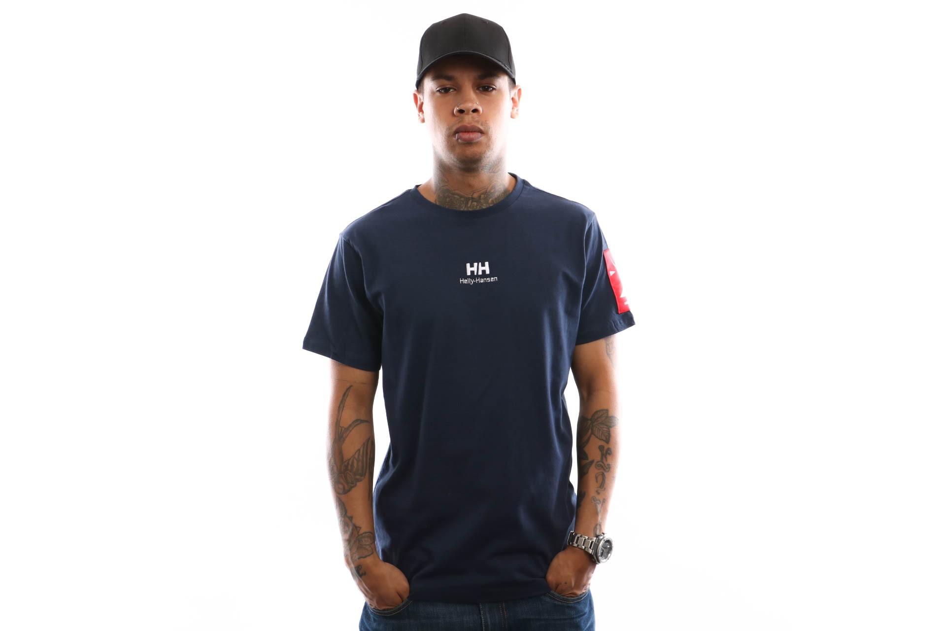 Foto van Helly Hansen Hh Urban T-Shirt 2.0 29851 T Shirt Evening Blue