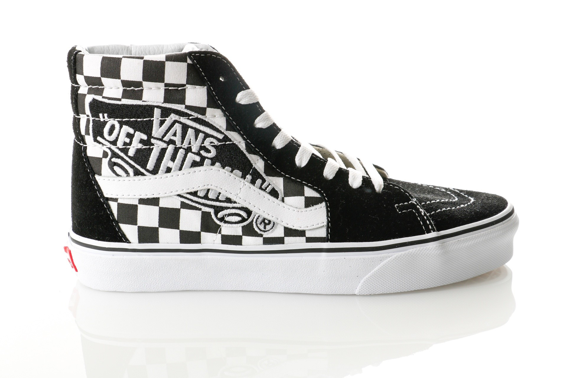 Foto van Vans UA SK8-Hi VA38GEUPV Sneakers (Vans Patch) black/true white