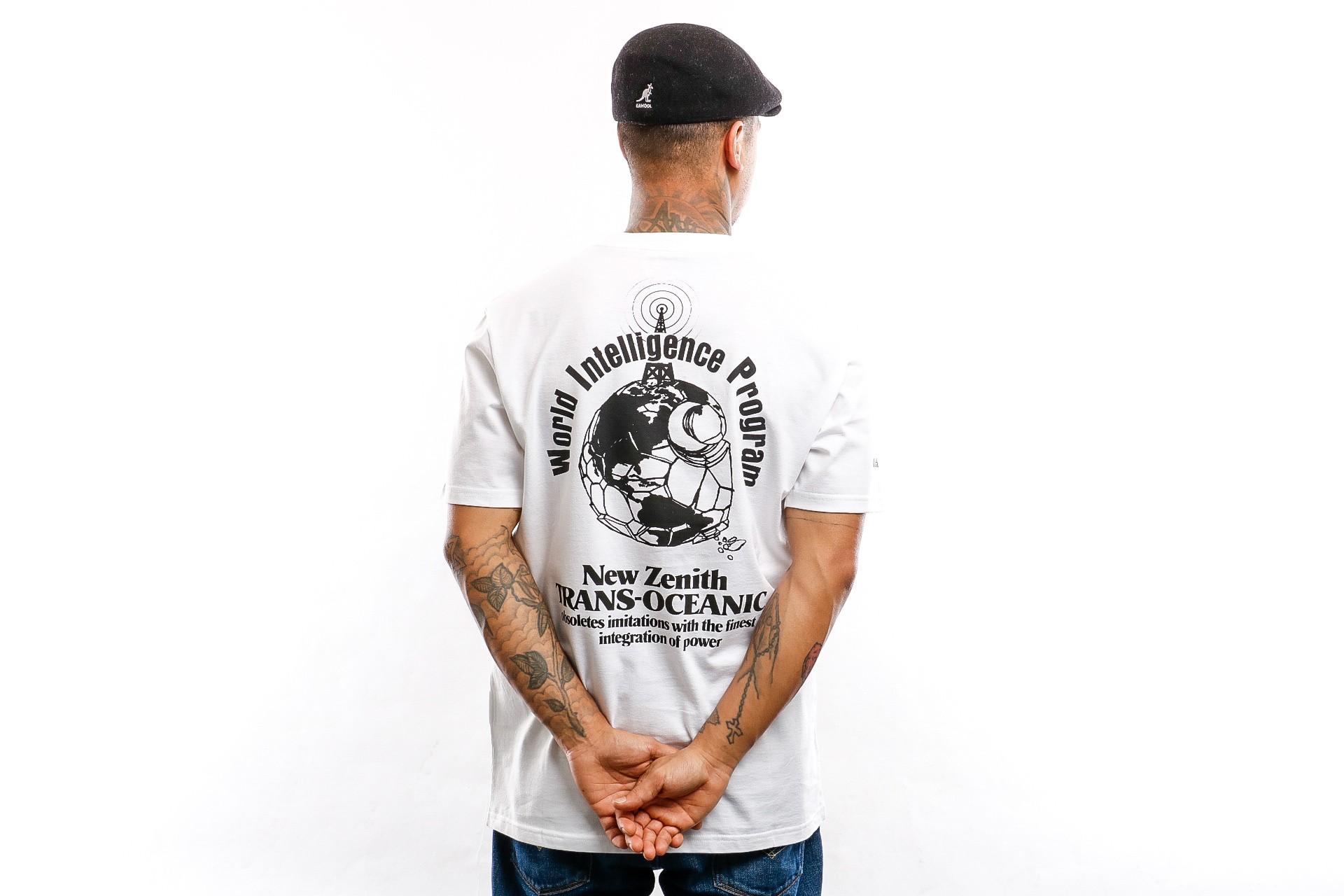 Foto van Carhartt WIP T shirt S/S New Zenith T-Shirt White / Black I027099