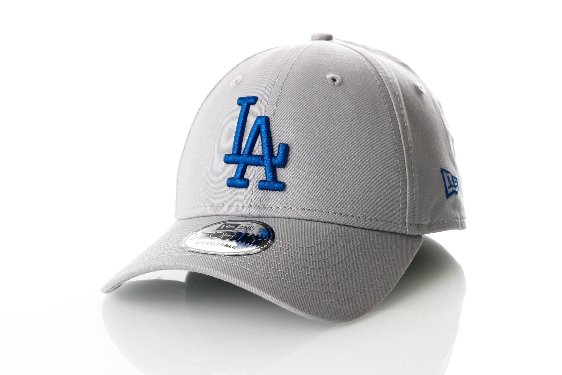 Foto van New Era 9Forty GRABRY LOS ANGELES DODGERS 11841191 dad cap Grey/Royal MLB