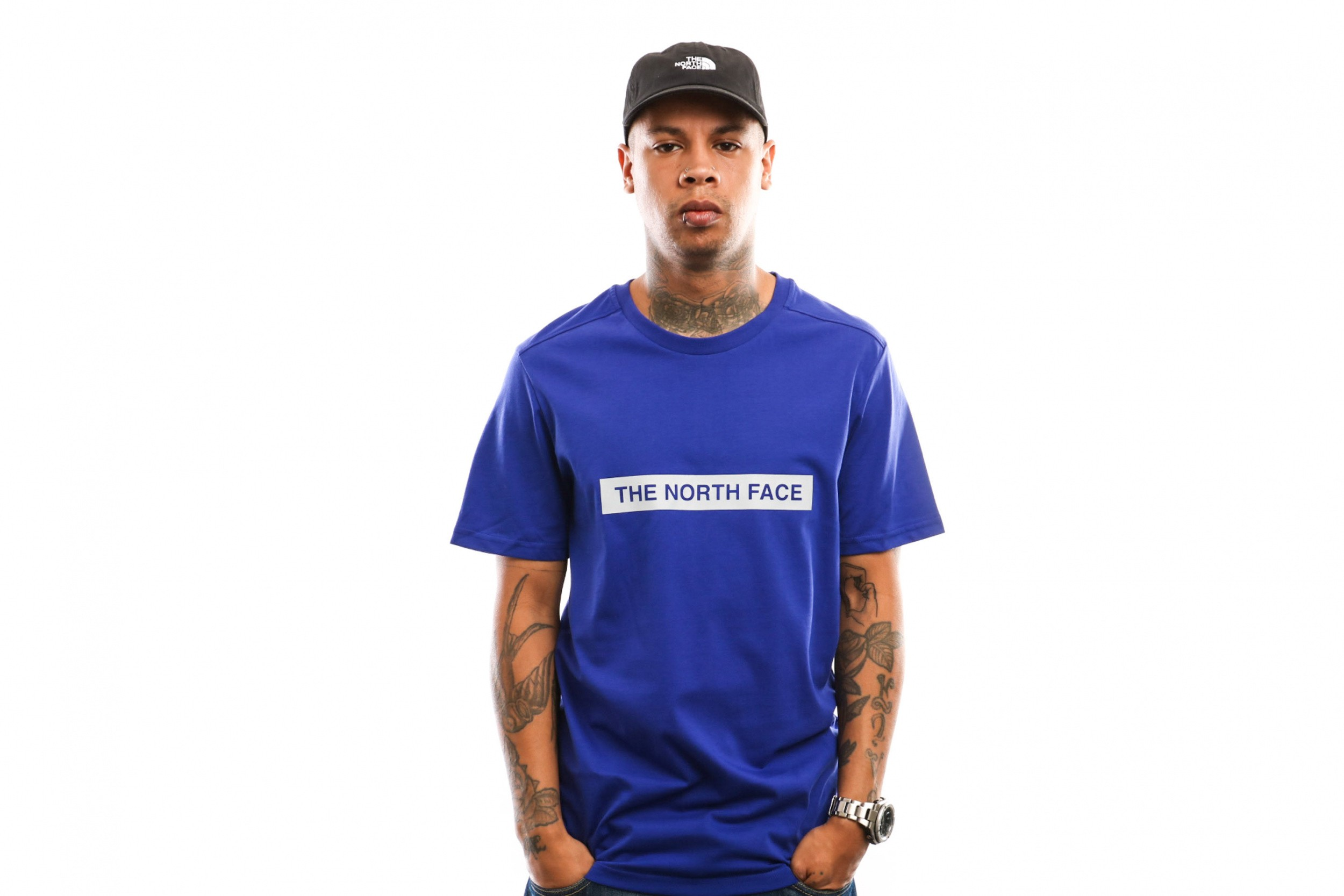 Foto van The North Face M S/S Light Tee T93S3O T Shirt Lapis Blue