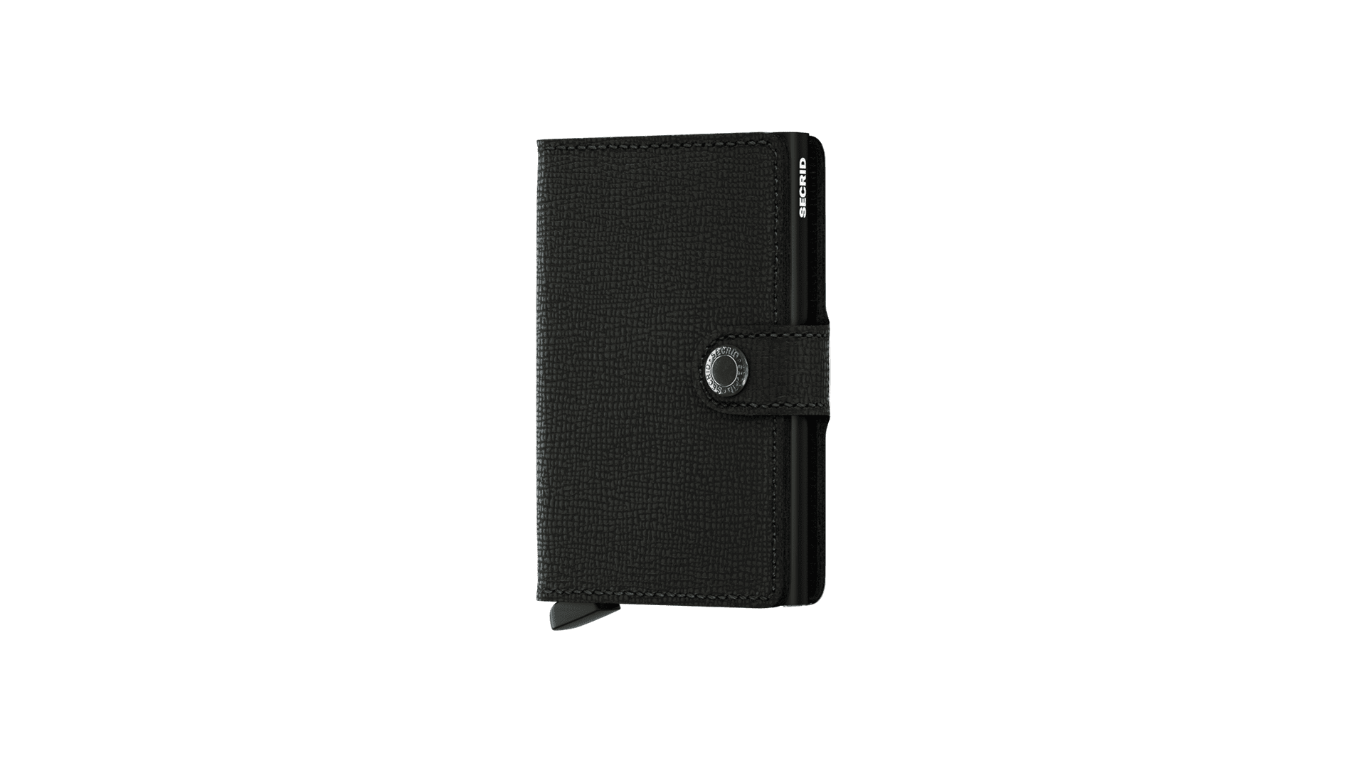 Foto van Secrid MC-Black Wallet Miniwallet crisple Black
