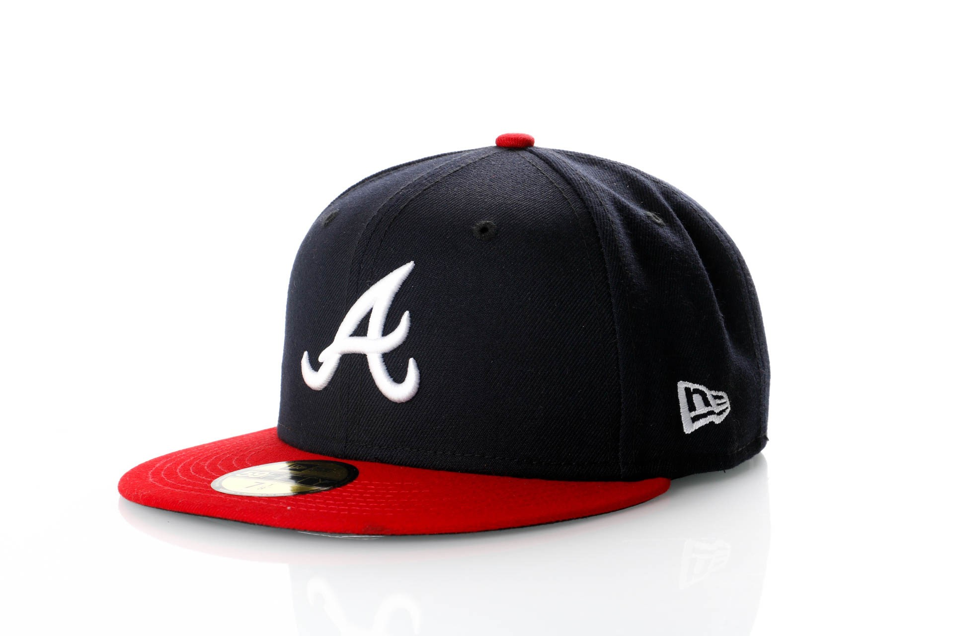 Foto van New Era Ac Perf 59Fifty 70361069 Fitted Cap Offical Team Colour Mlb Atlanta Braves