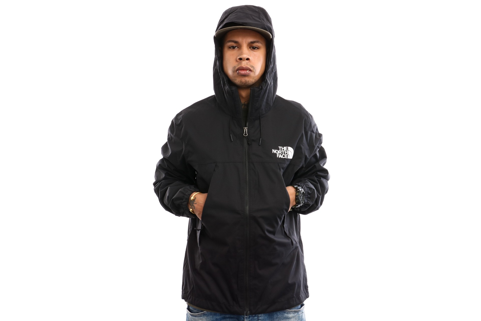 Foto van The North Face M 1990 Mnt Q Jkt T92S51NM9 Jas Tnfblack/Tnfwhite/Tnfwhit