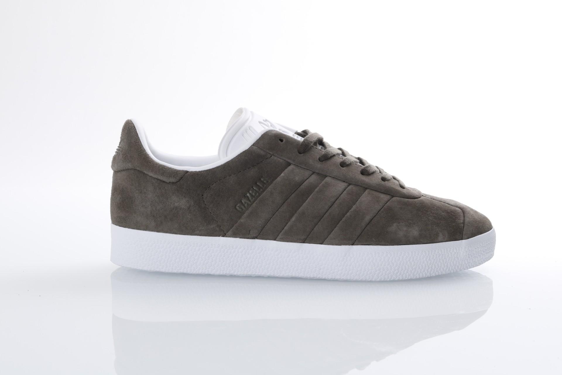 Afbeelding van Adidas Originals CQ2359 Sneakers Gazelle stitch and turn Branch/branch/ftwr white