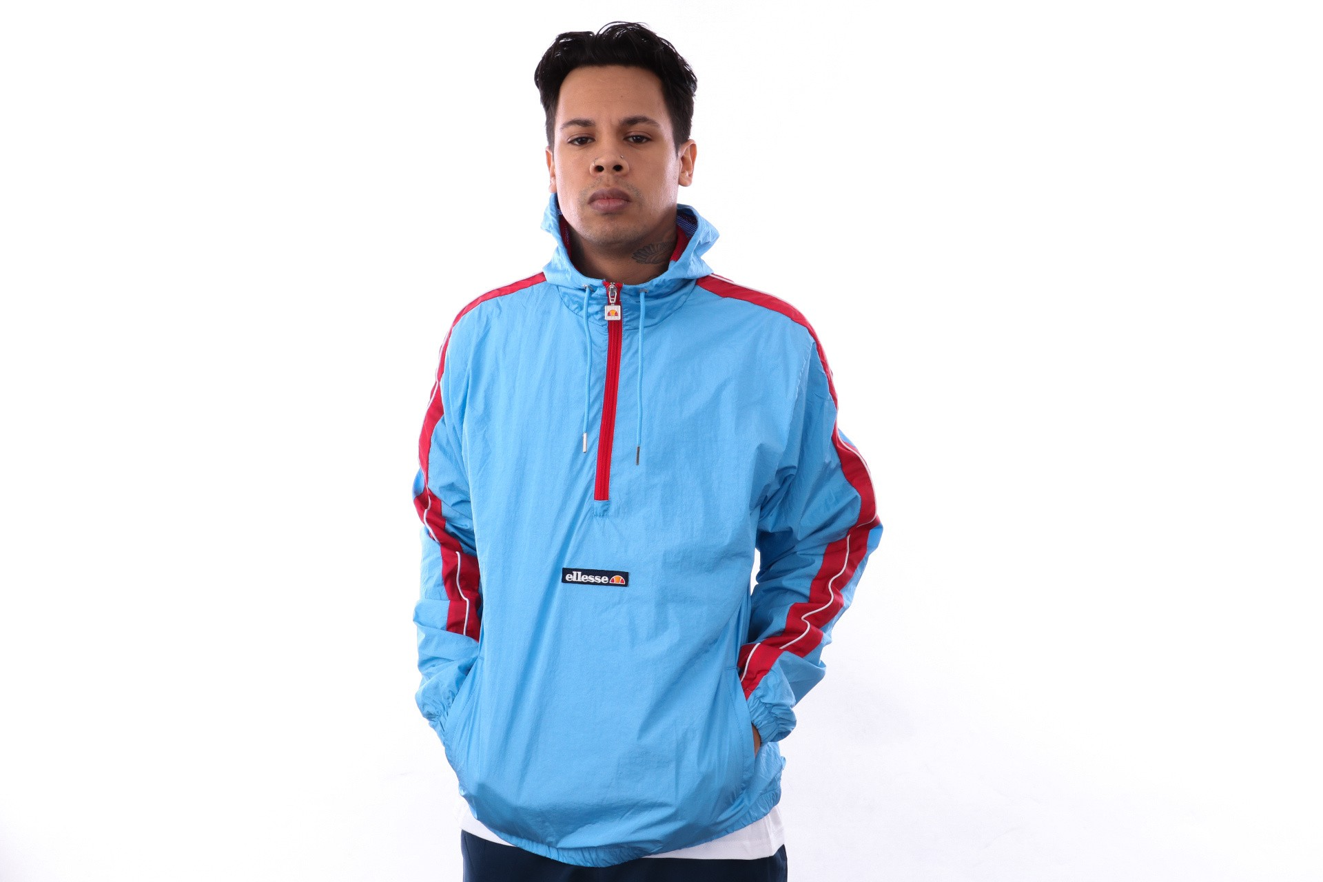 Foto van Ellesse Osiris SHA06410 Jacket Light Blue