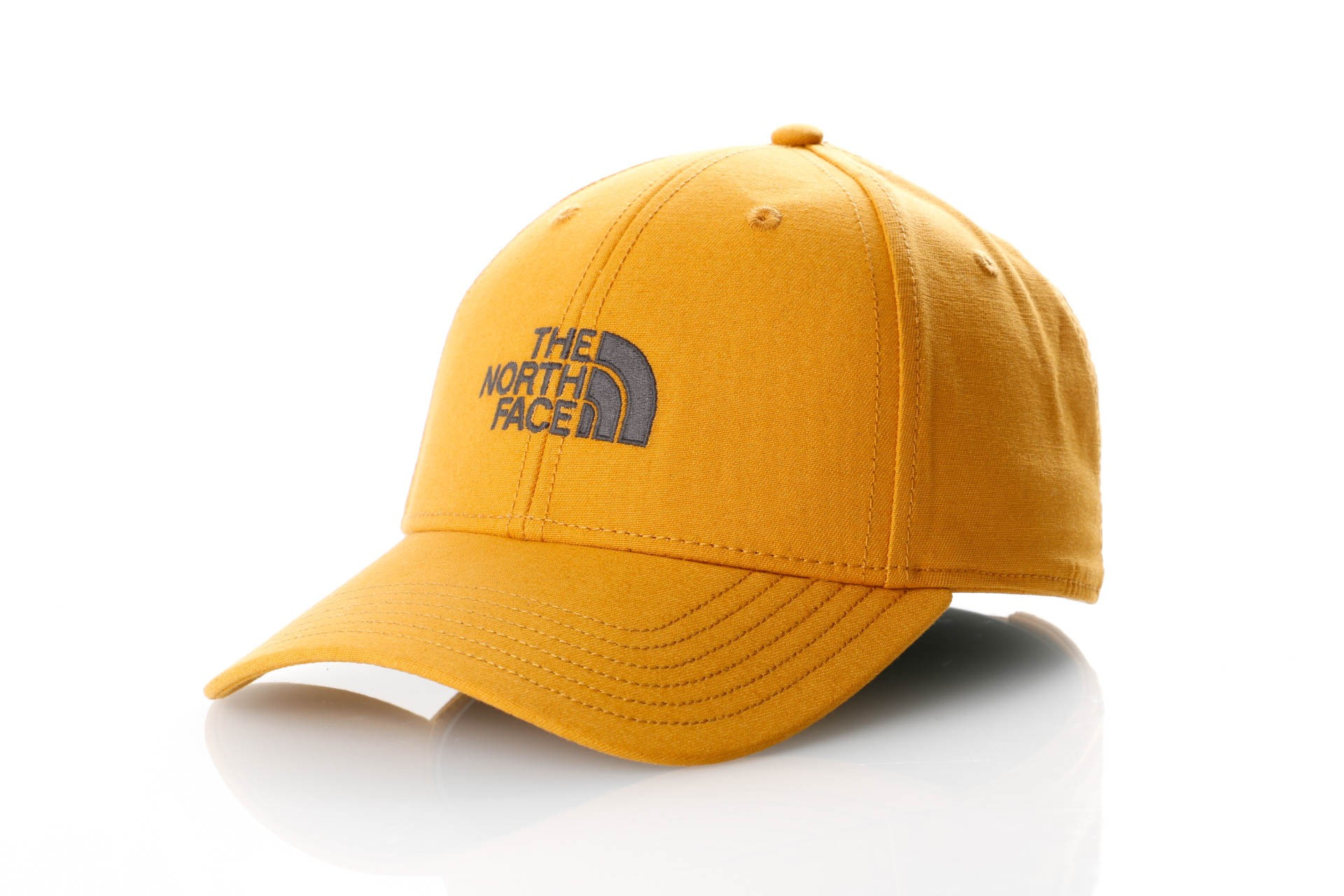 Foto van The North Face 66 Classic Hat T0CF8C Dad Cap Citrine Yellw/Asphalt Gry
