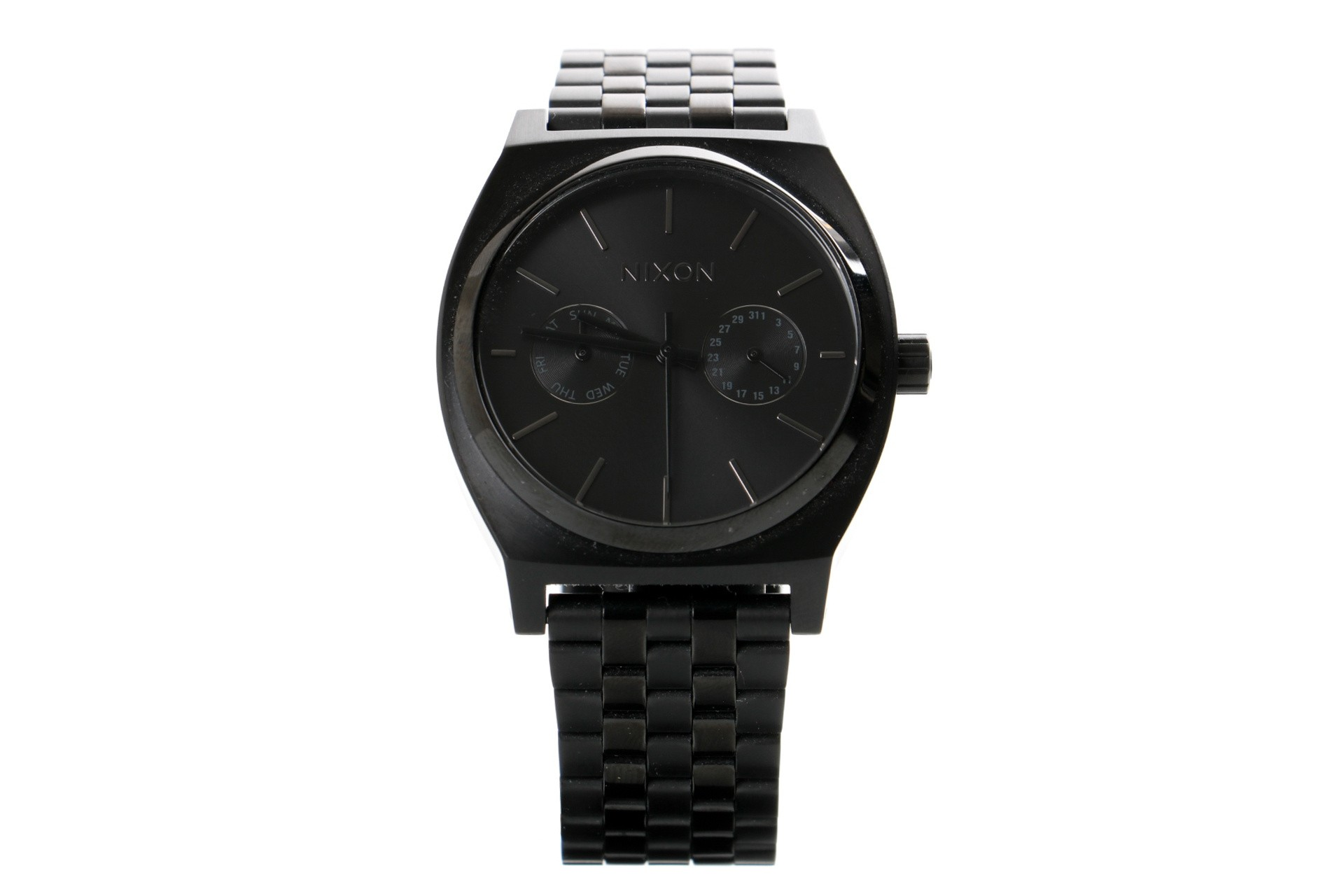Foto van Nixon A922-001 Watch Time teller delux Zwart