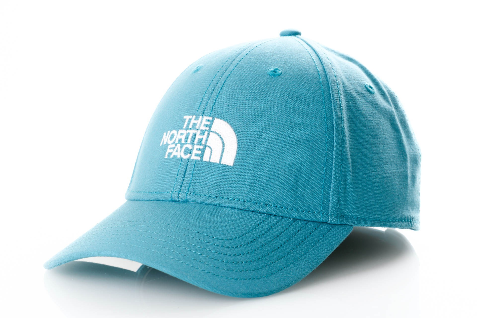 Foto van The North Face 66 Classic Hat T0CF8C Dad Cap Storm Blue/Tnf White