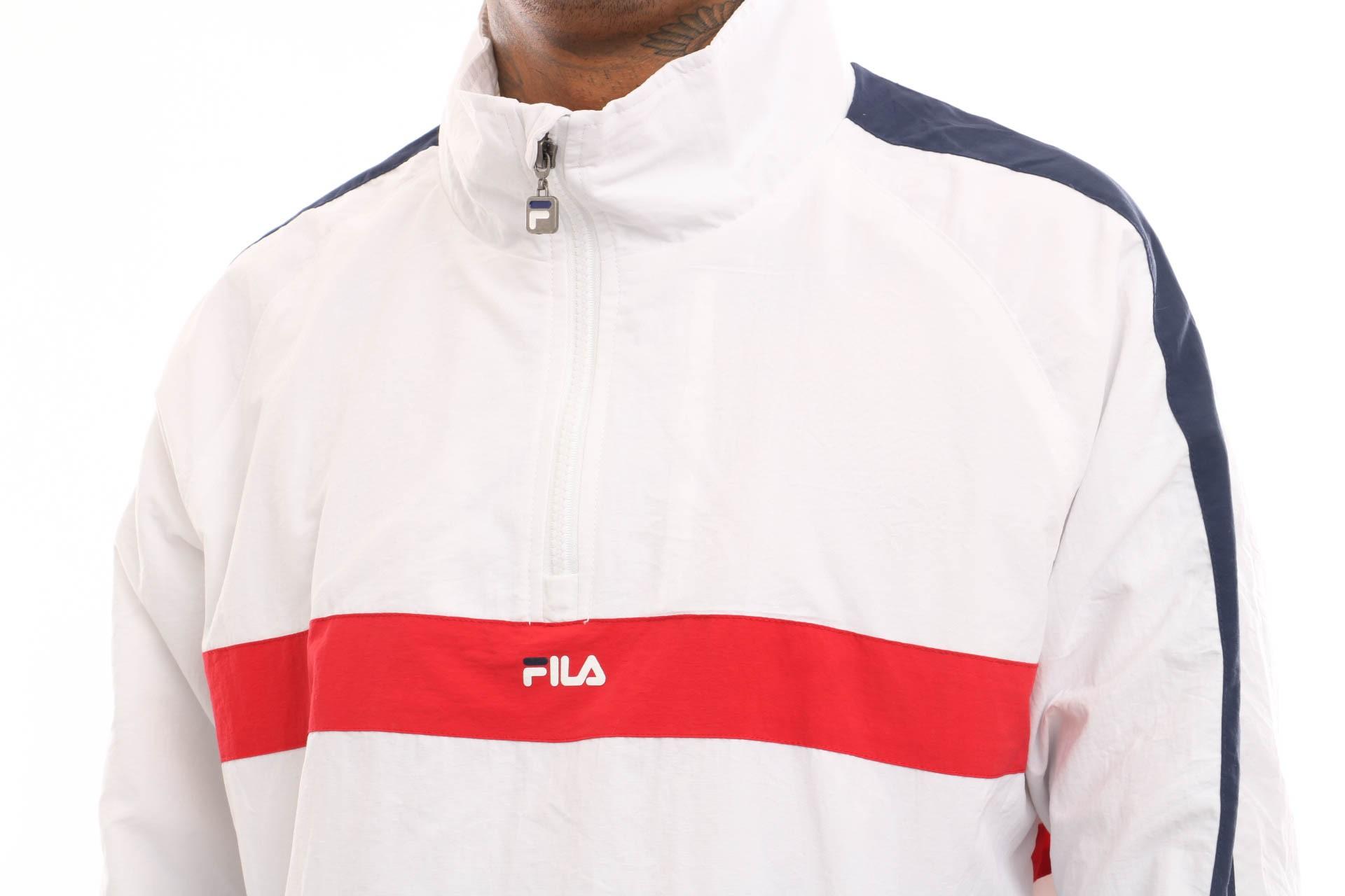Bright Fila Zip Tracktop Jona 687032 Jacket Half Woven 6f7vYbyIg