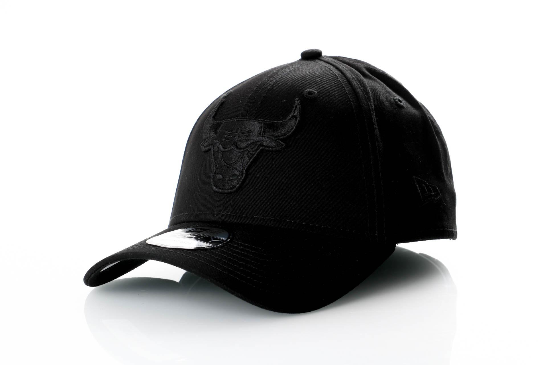 Foto van New Era 9Forty Snapback 11871669 Dad Cap Black/Black Chicago Bulls