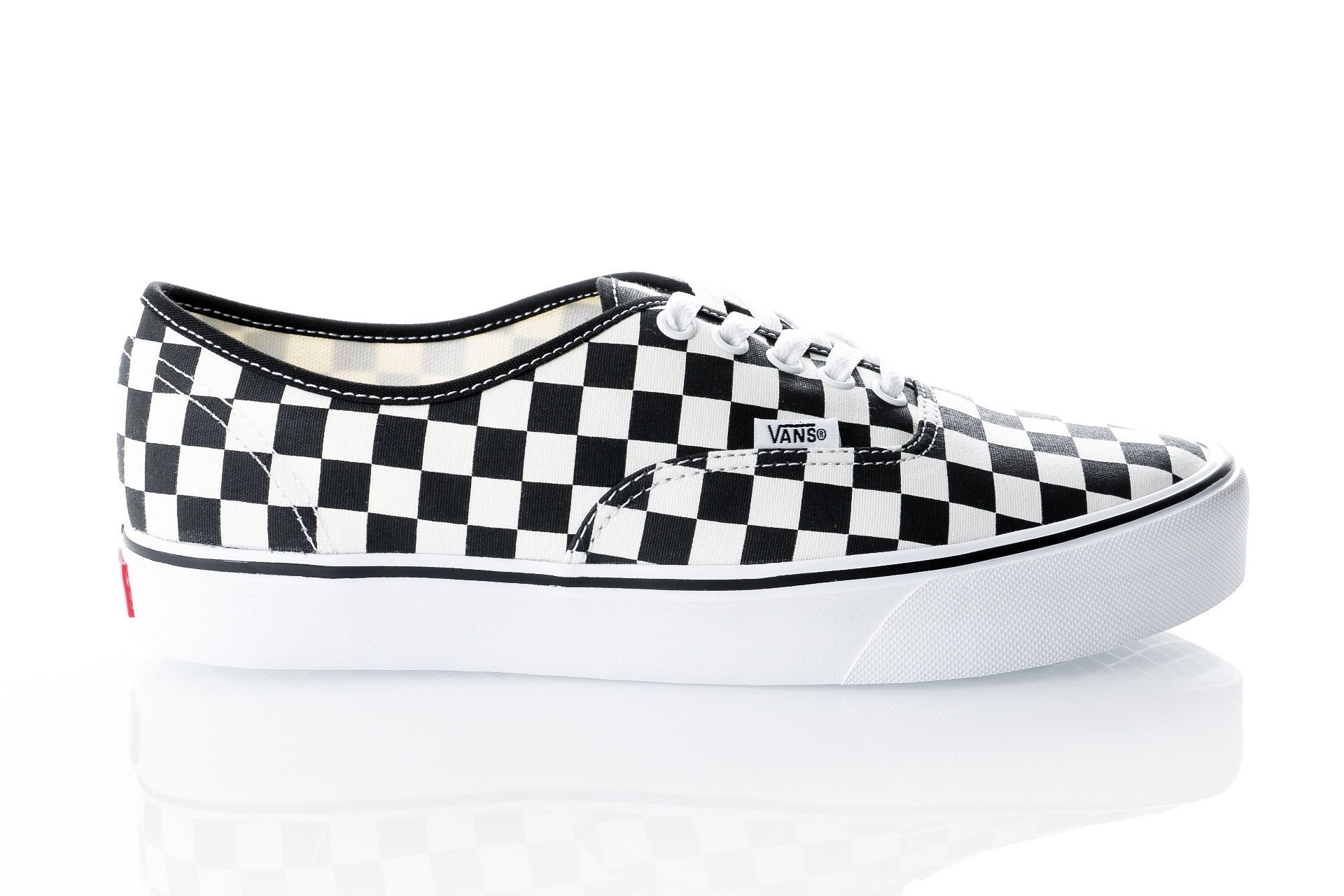 Foto van Vans UA Authentic Lite VA2Z5J5GX Sneakers (Checkerboard) black/white