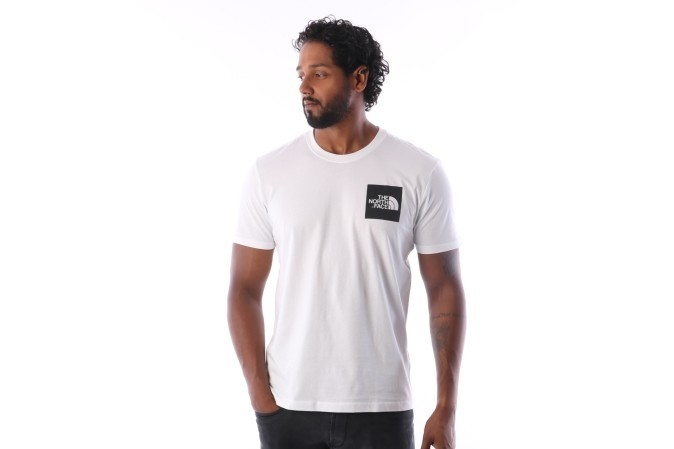 Afbeelding van The North Face T0CEQ5-LA9 T-shirt Fine Tnf white / Tnf black