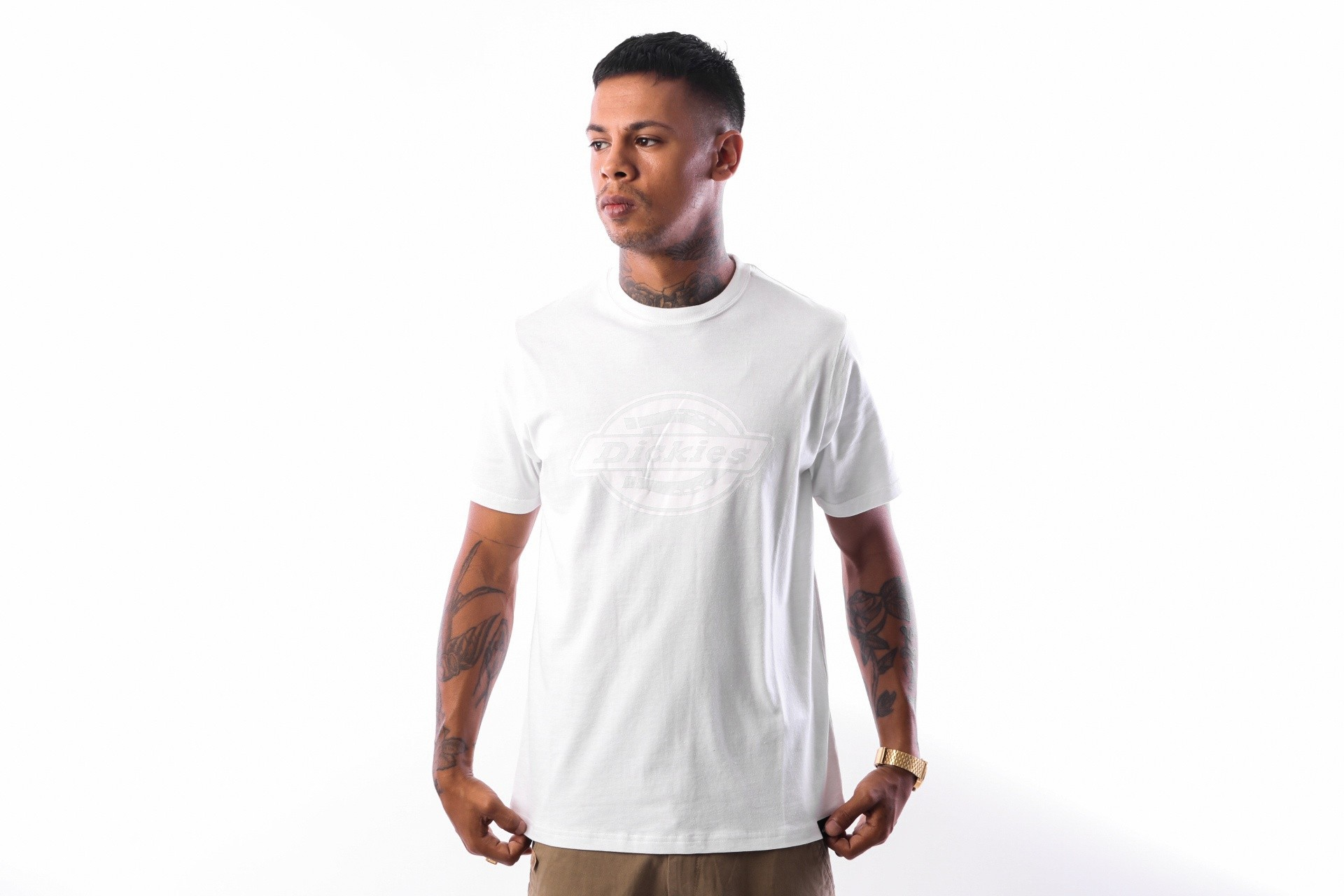 Foto van Dickies HS One Colour 06 210595 T shirt White