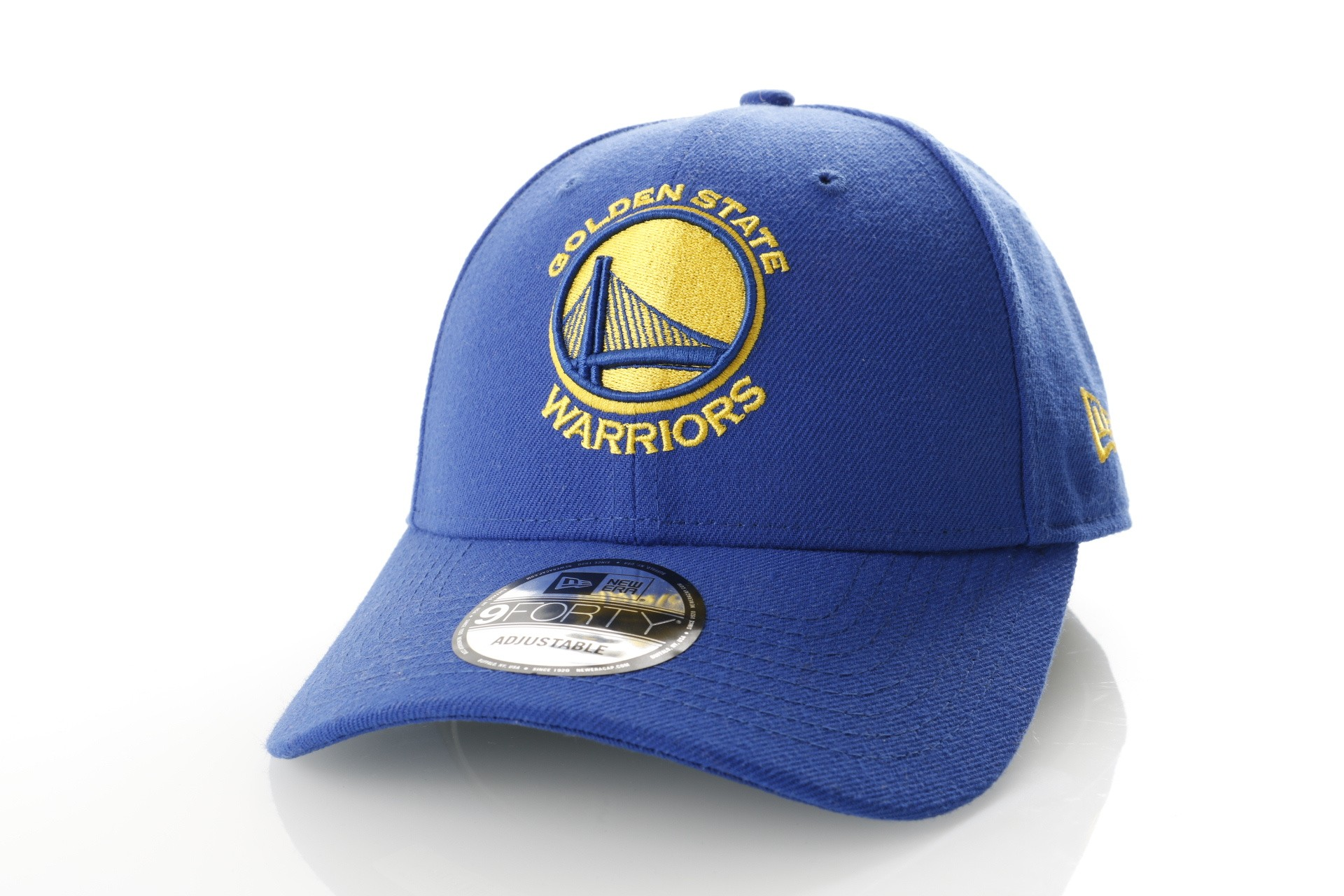 Foto van New Era BLACK ON BLACK 39THIRTY GOLDEN STATE WARRIORS 80635950 Dad Cap BLACK/BLACK NFL