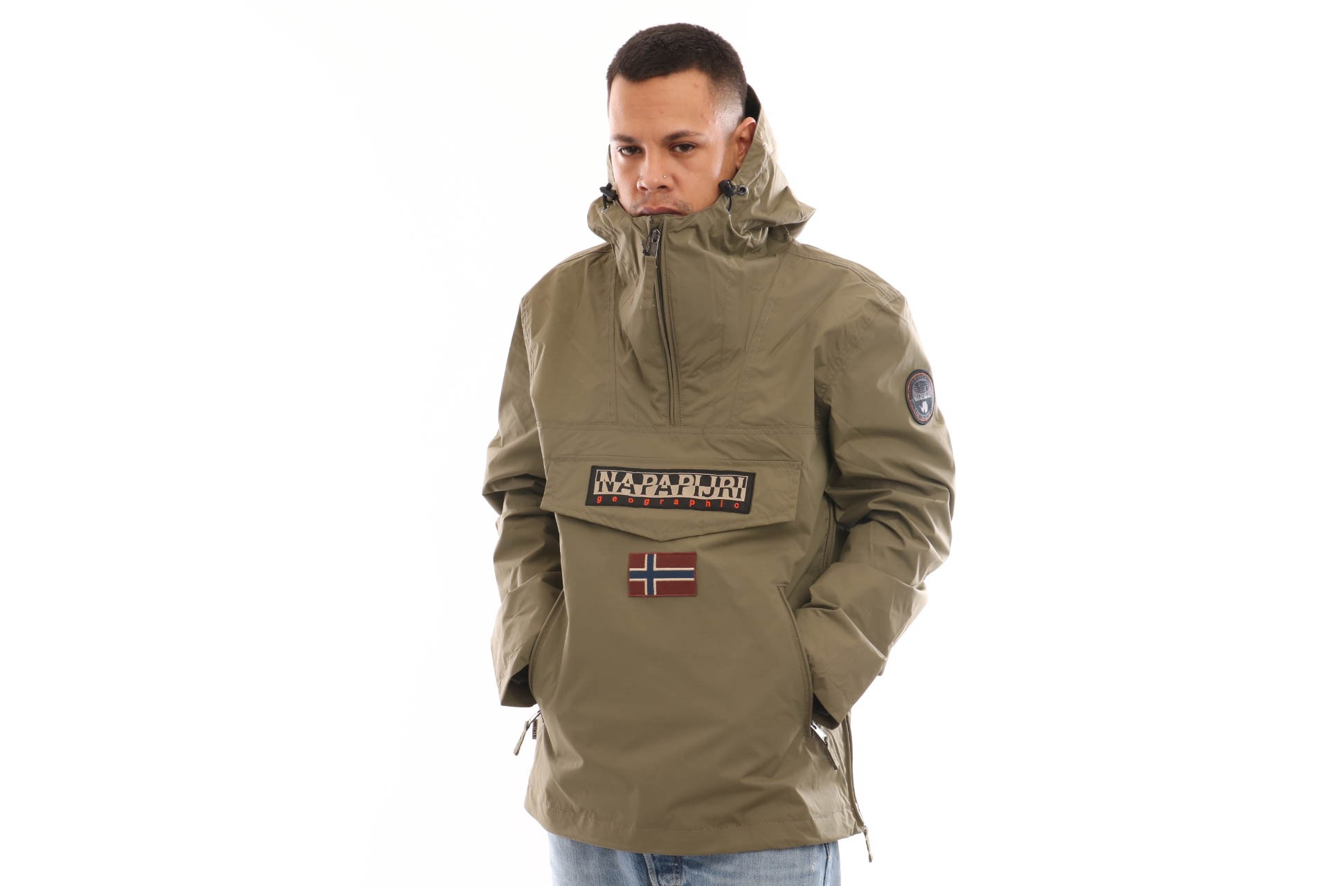 Foto van Napapijri Rainforest Pocket Summer N0YIJNGD6 Jacket New Olive Green