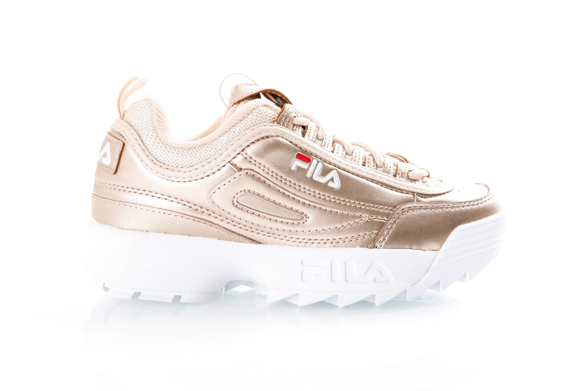 Foto van Fila Disruptor MM low wmn 1010442 Sneakers gold