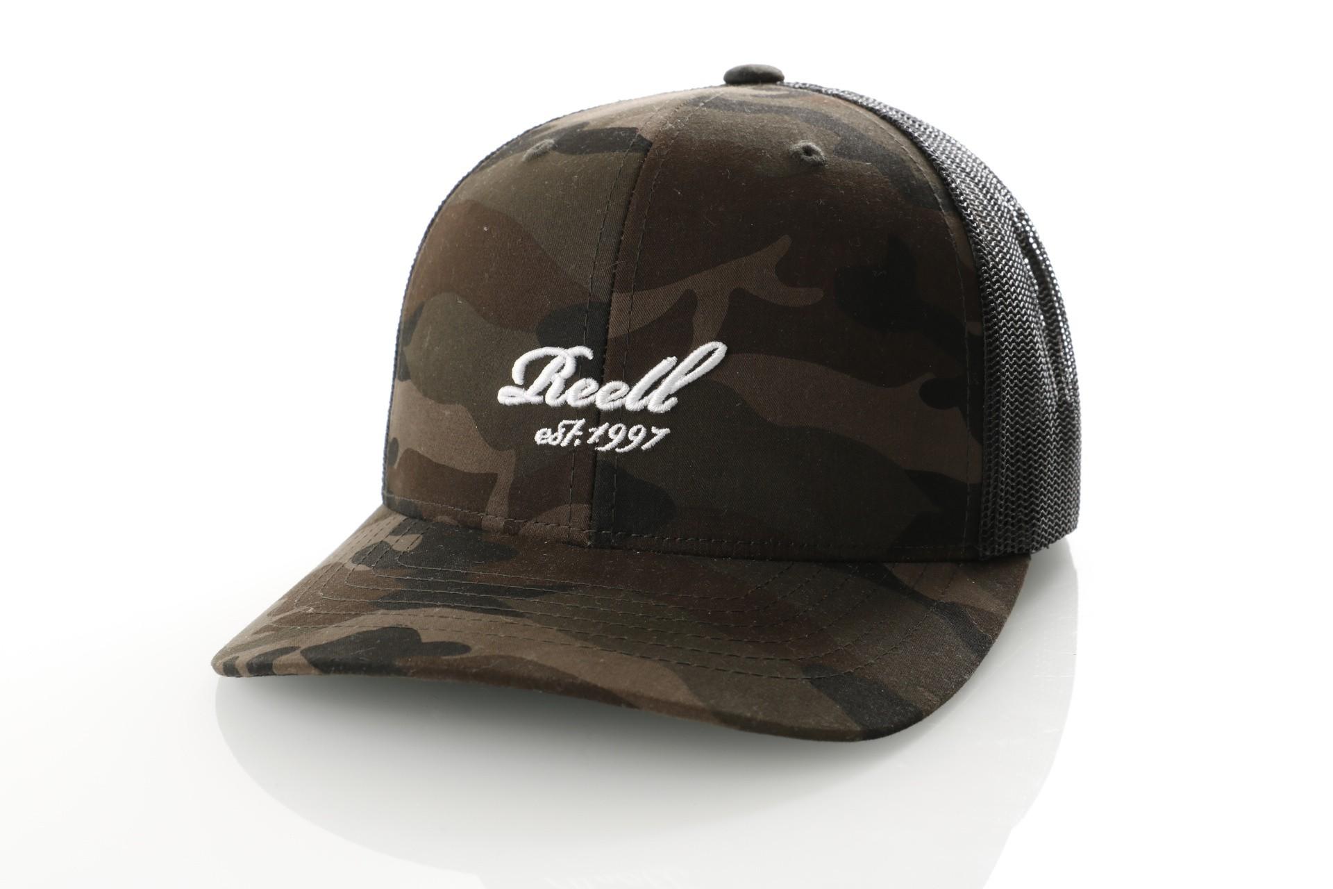 Afbeelding van Reell Curved Trucker Cap 1402-036 Trucker Cap Camouflage