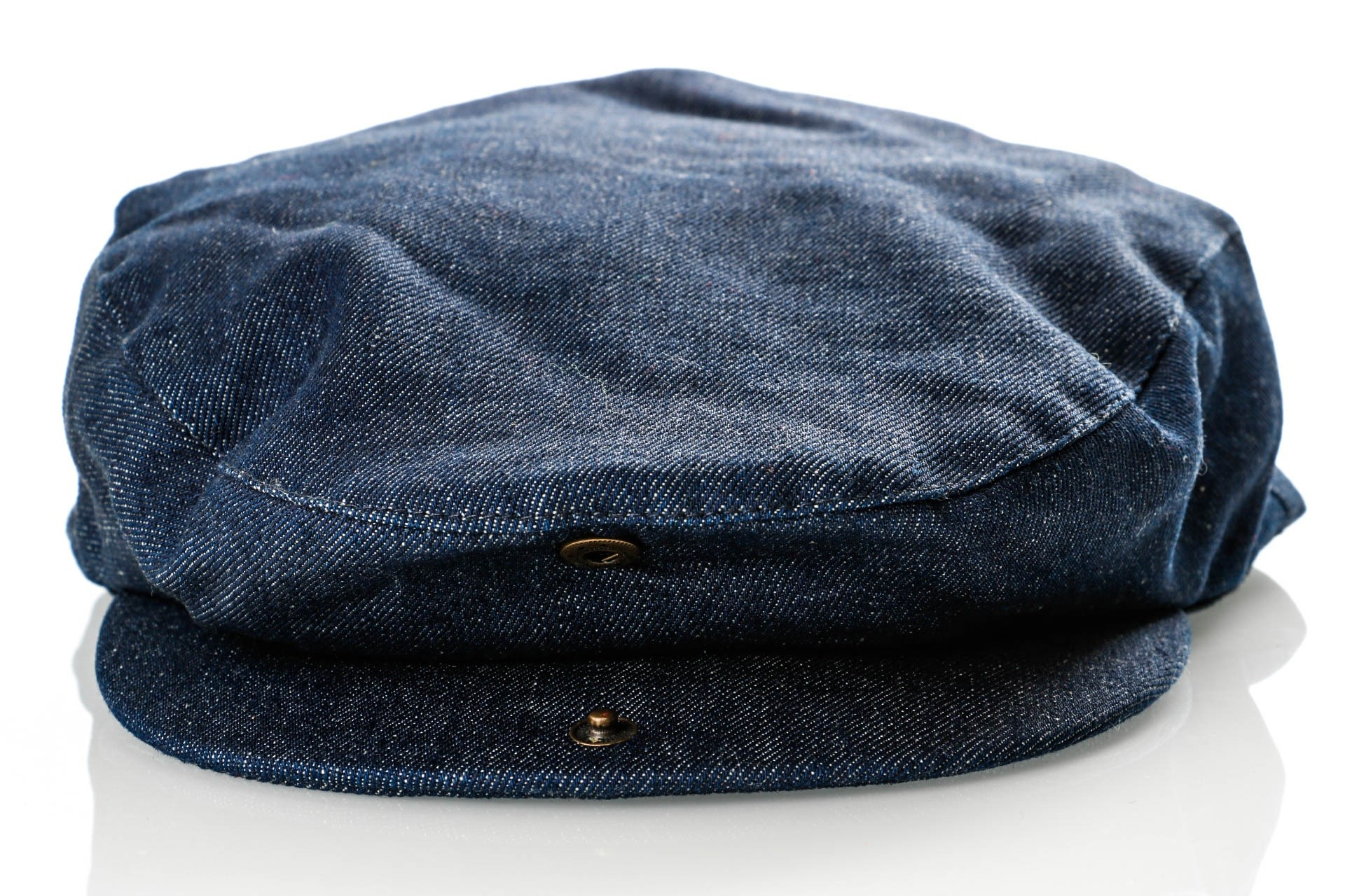 Brixton HOOLIGAN SNAP CAP 5 Flatcap DENIM - Go-Britain.nl 2b03b3c56266