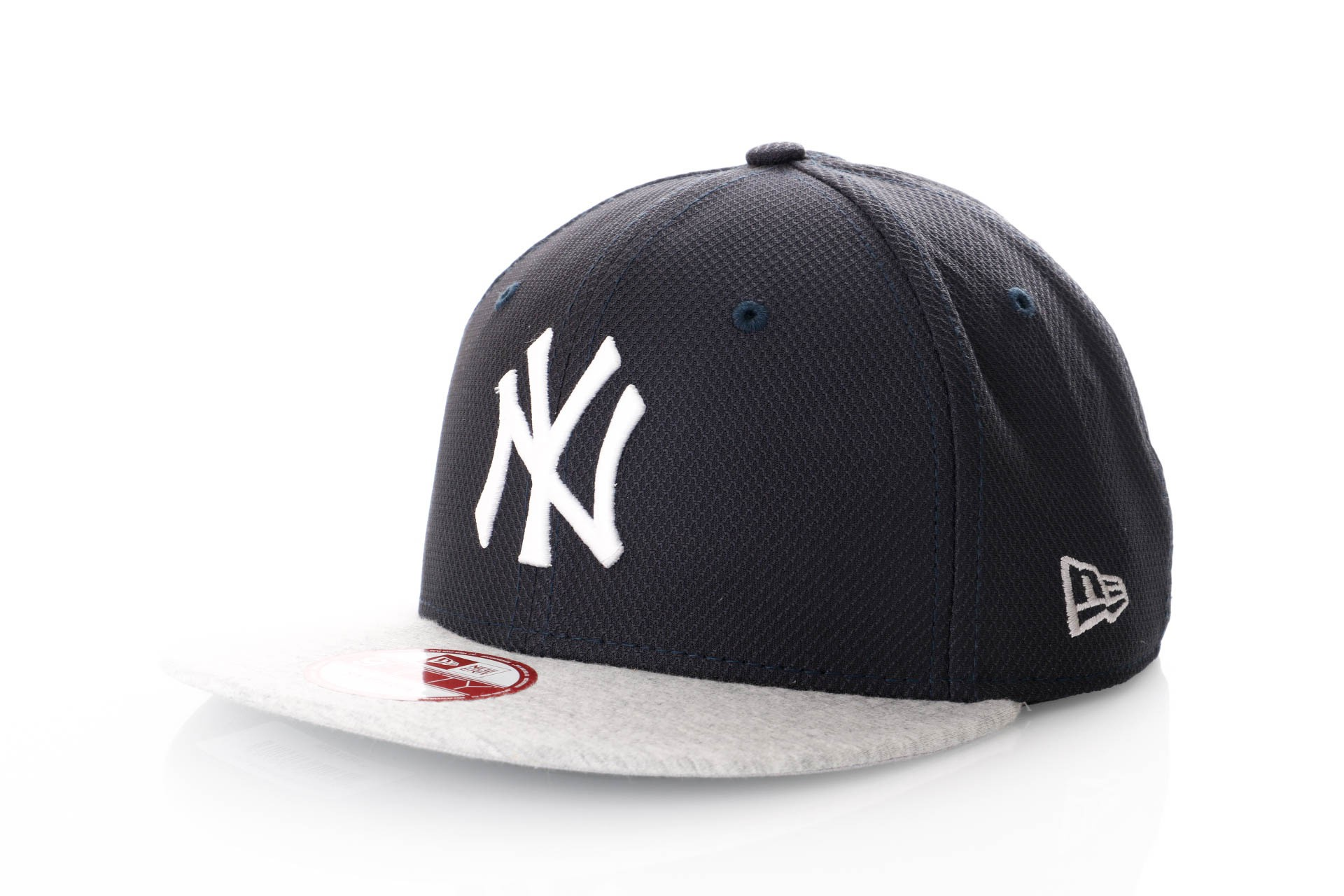 Foto van New Era Jersey Diamond Snapback Cap Black/Grey Ny