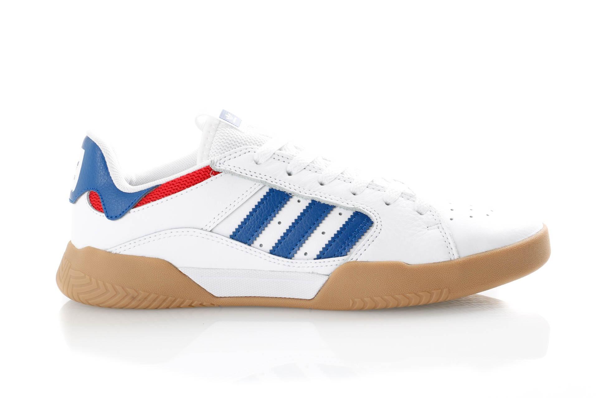 Foto van Adidas Vrx Low Db3178 Sneakers Ftwr White/Collegiate Royal/Scarlet