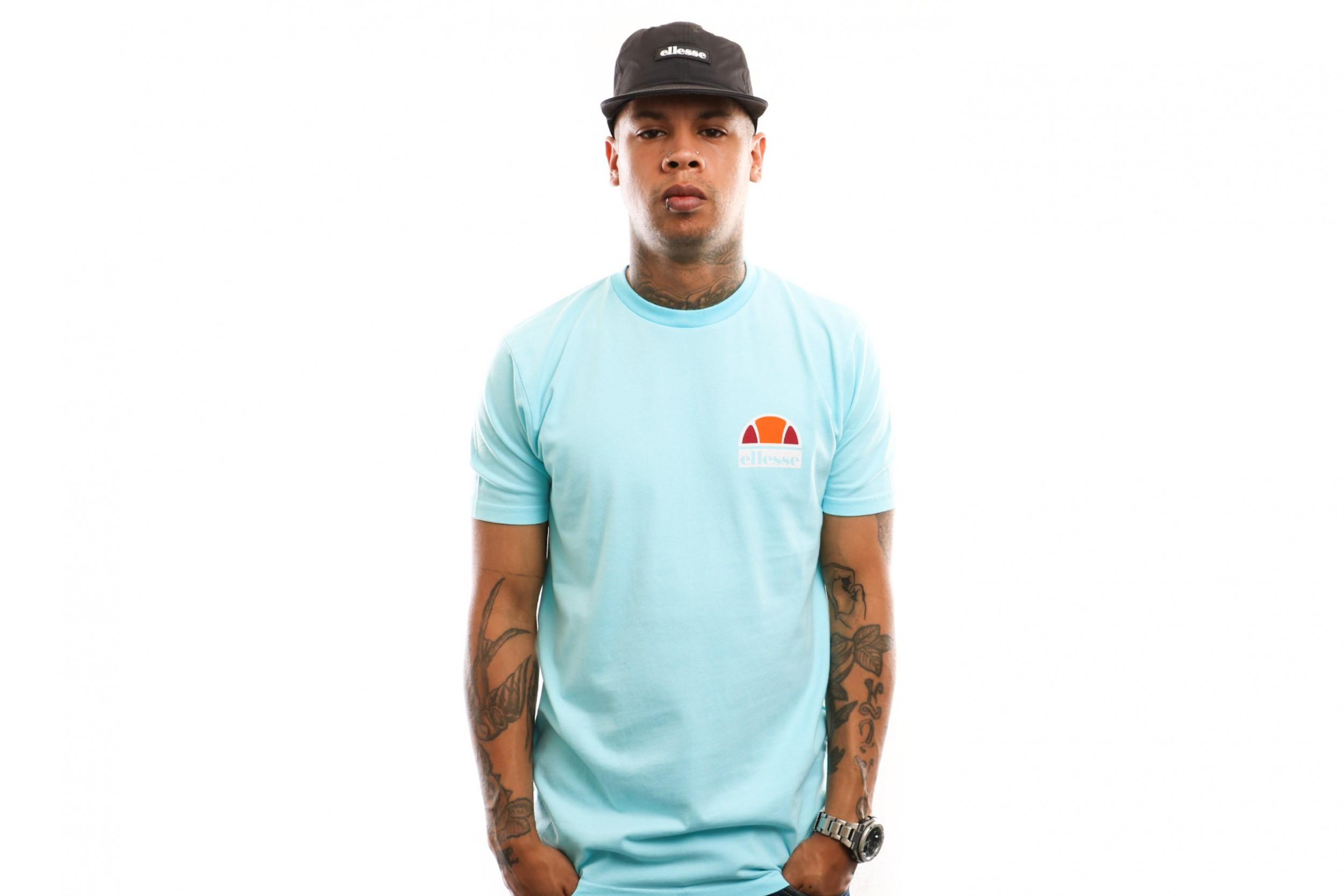 Foto van Ellesse Cuba Shb06831 T Shirt Neon Blue