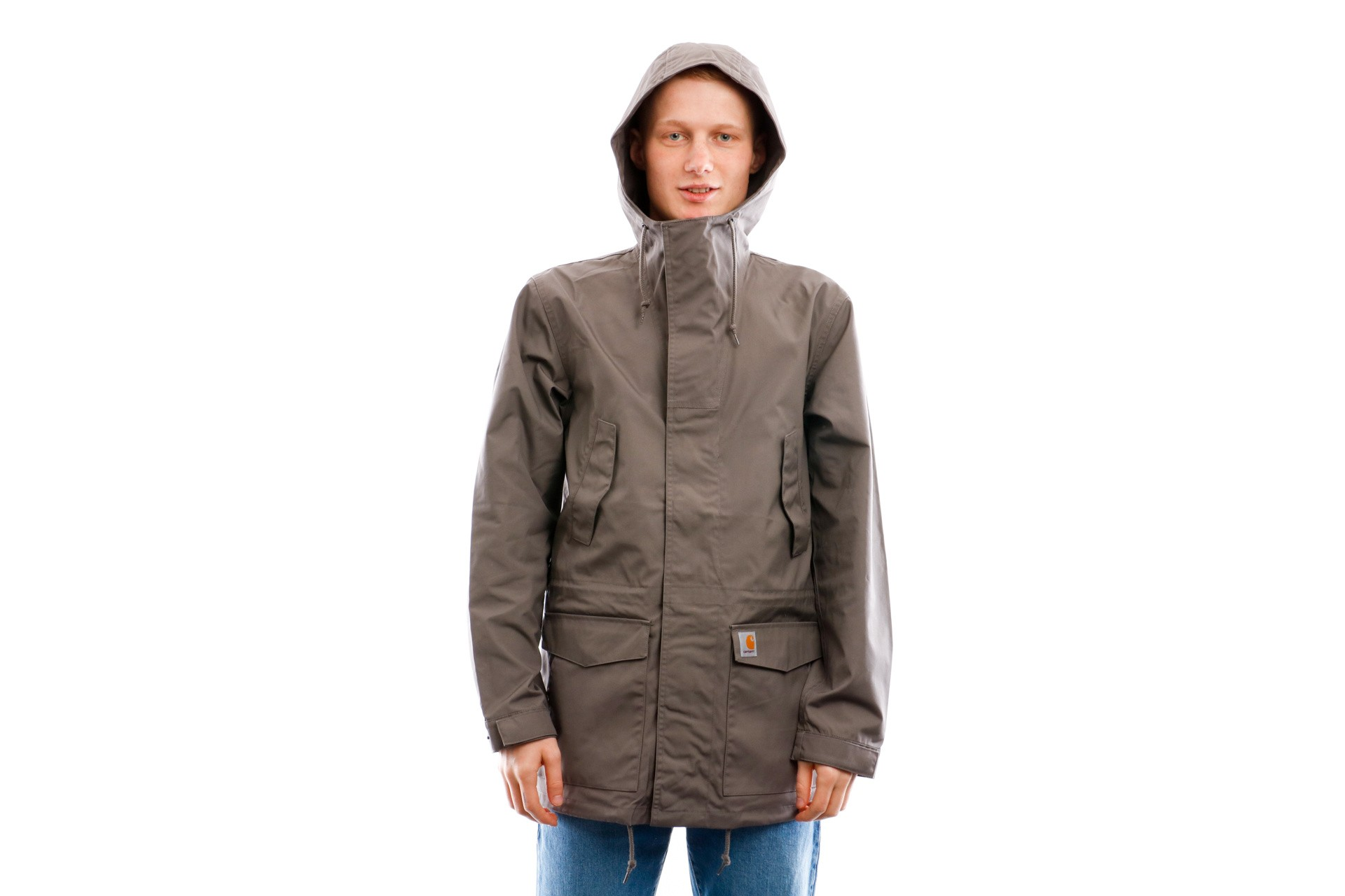 Foto van Carhartt WIP Jacket Battle Parka Air Force Grey I017798