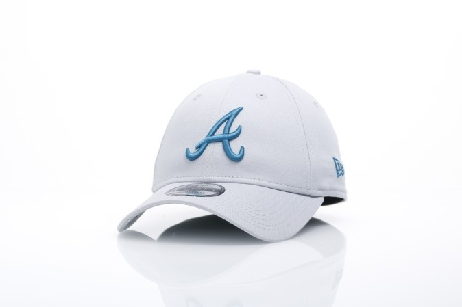 Afbeelding van New Era 80524683 Dad cap MLB league essential 940 Atlanta Braves Grijs