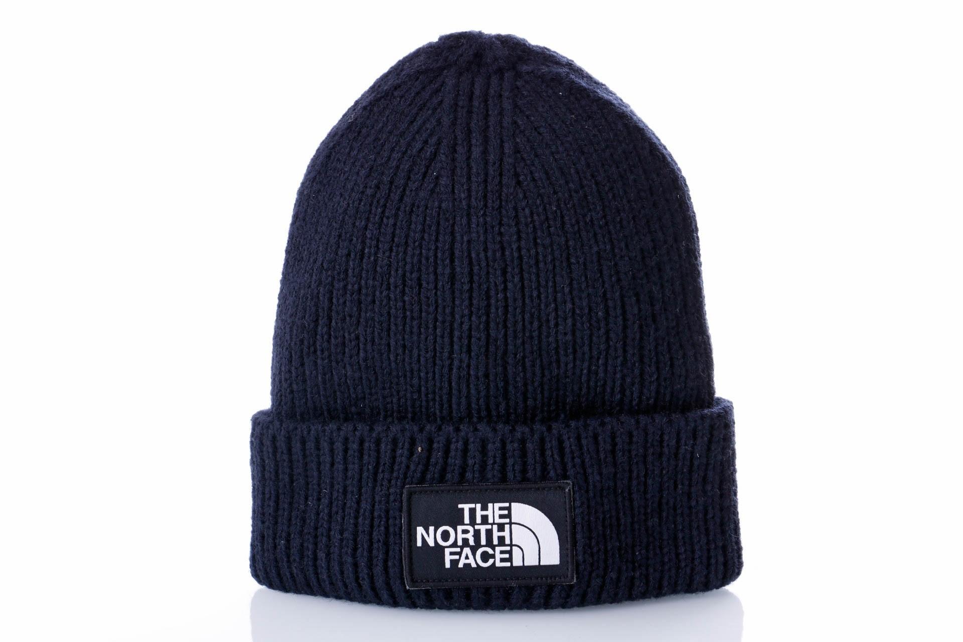Foto van The North Face TNF LOGO BOX CUFF BE T93FJXH2G Muts URBAN NAVY