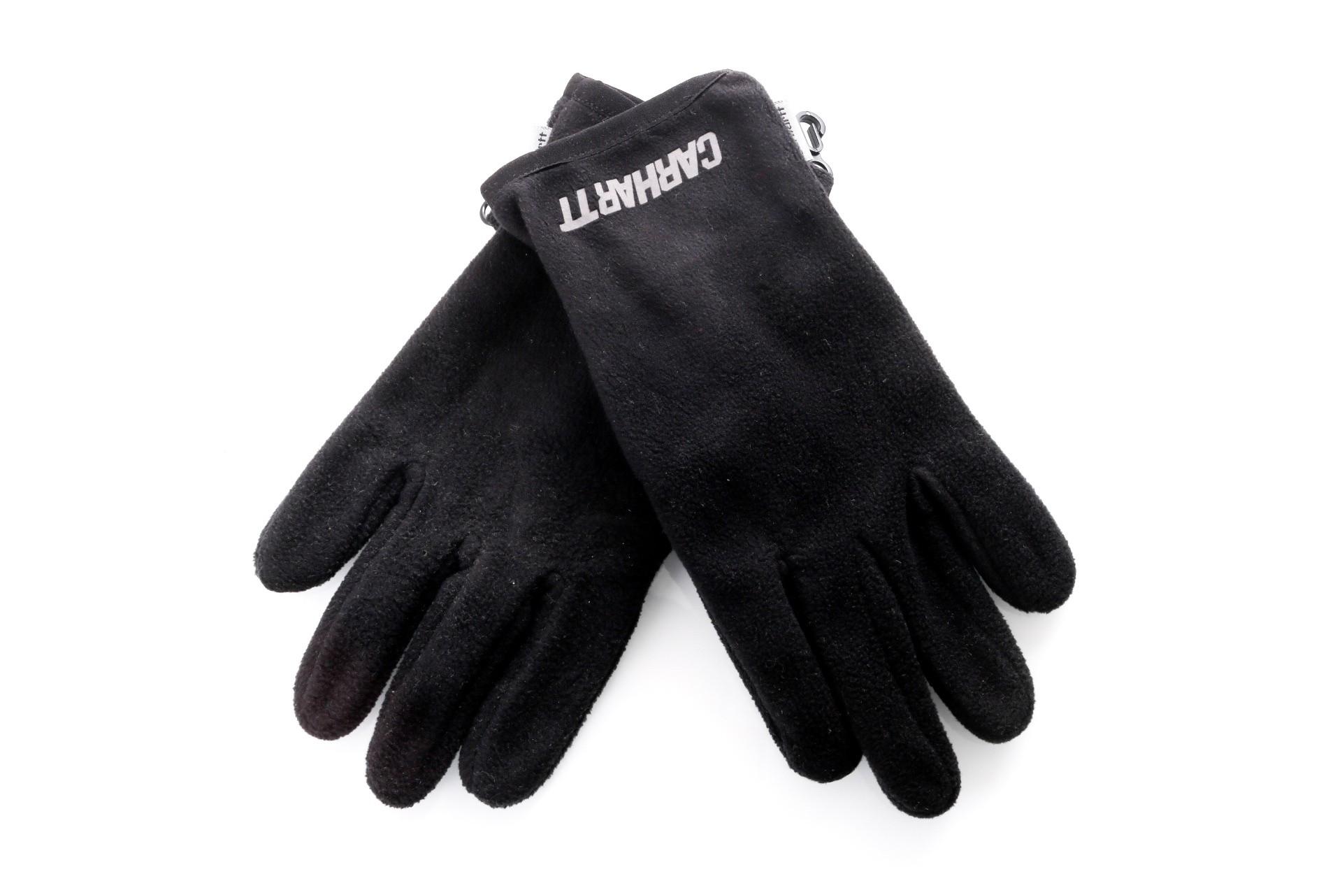 Foto van Carhartt Wip Beaufort Gloves I026838 Handschoenen Black / Reflective